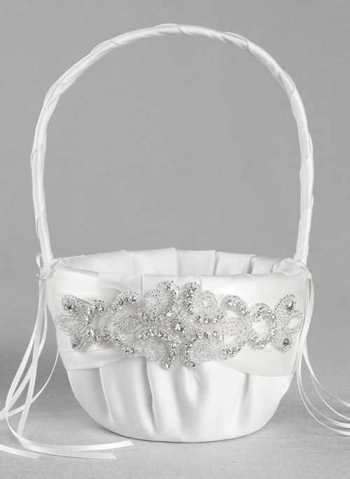 Flower girl basket adriana flower girl basket mightylinksfo