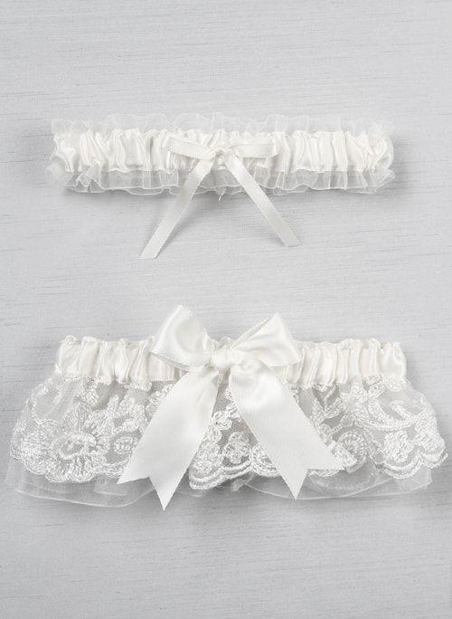 cdbb84b30a5 Details. The Chantilly Lace Garter Set ...
