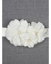 Water Lily Bridal Sash