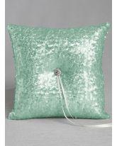 Elsa Matte Sequin Ring Pillow