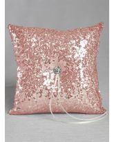 Elsa Shiny Sequin Ring Pillow