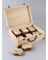 Fancy Wood Guest Cards 10pk