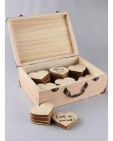 Country Romance Guest Book Box