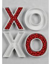 XOXO Letter Dish Set