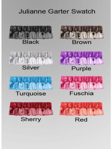 Julianne Custom Bow Tie Garter