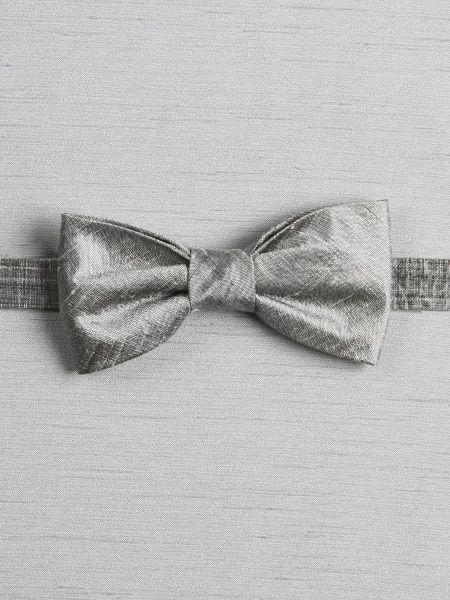 Silk Dupioni Pre-tied Bow Tie