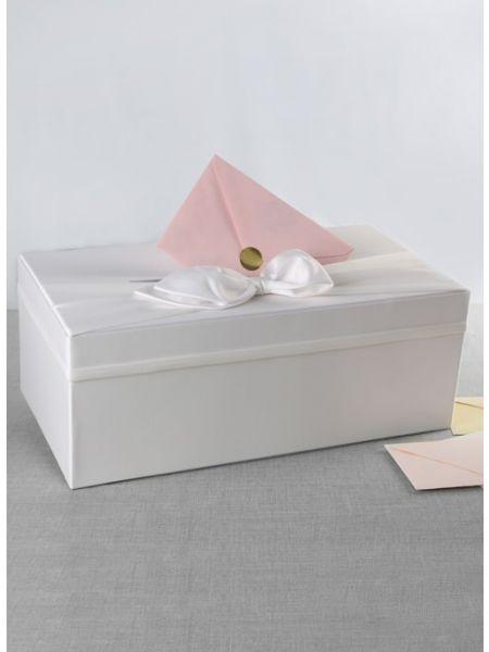Satin Card Box w/Sash