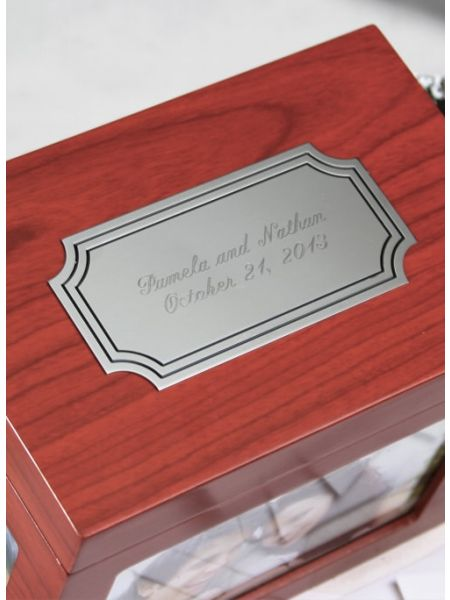 Guest Card Box - Cherry