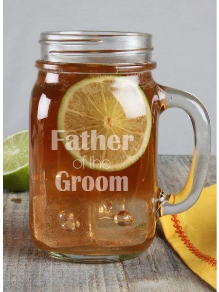 Father of the ...Mason Jar Mug