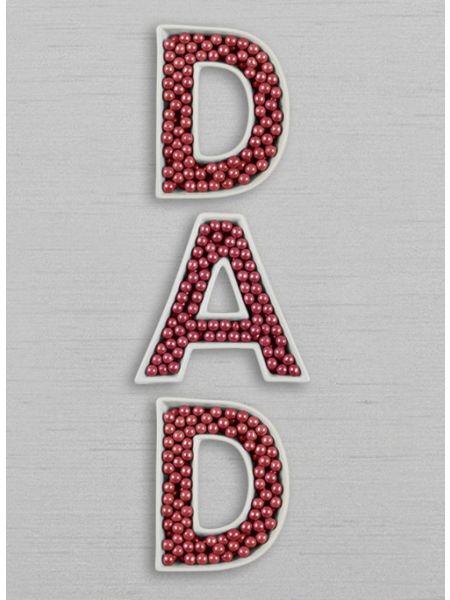 DAD Letter Dish Set