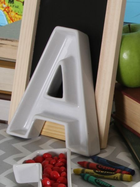 A-Z Letter Dishes