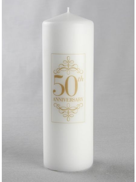 50th Anniversary Pillar