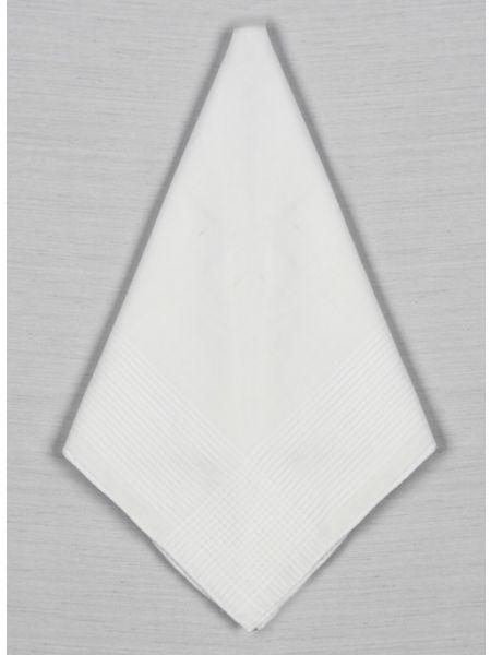 Cotton Strip Men's Handkerchief