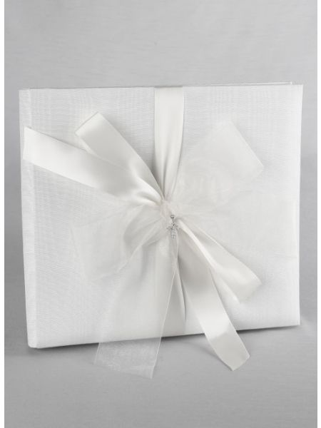 Grace Collection Scapbook Album-White