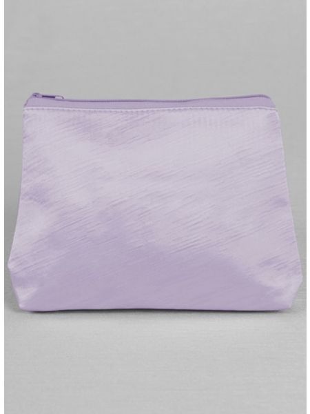 Novia Embroidered Cosmetic Bag-Lavender
