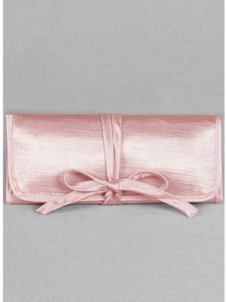 Mis Primera Comunion Embroidered Jewelry Roll-Pink