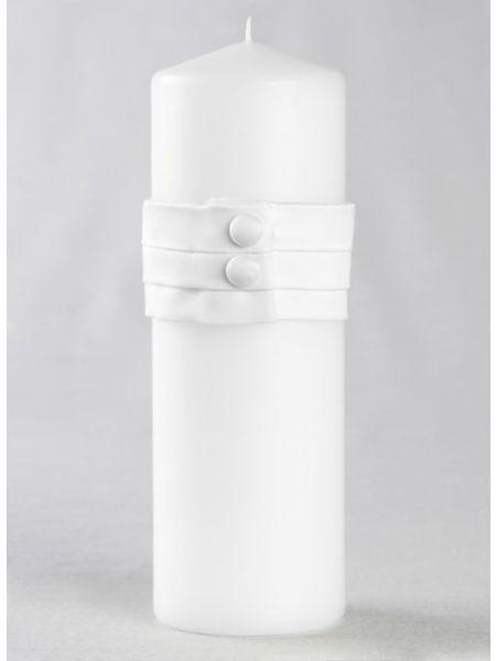 Audrey Unity Candle-White
