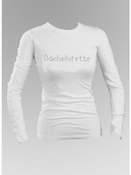 Bachelorette Rhinestone Long Sleeve Top