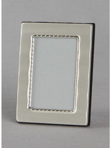Matte Wave Silver Frame