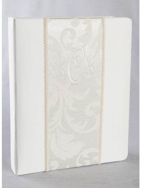 Brocade Monogram Memory Book