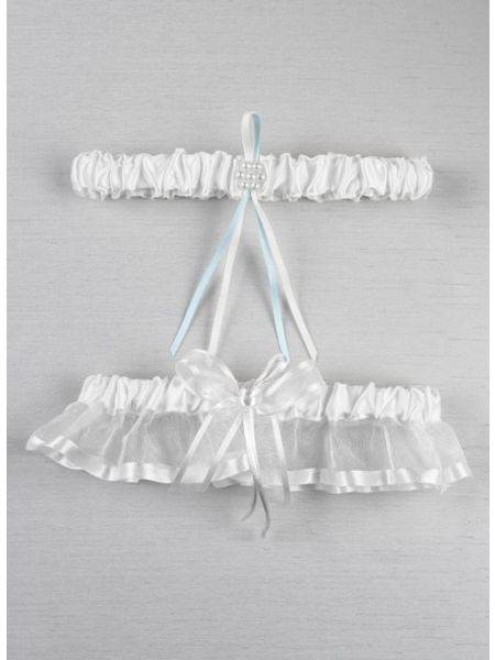 Simplicity Bridal Garter Set
