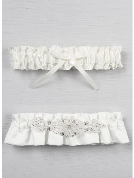 Adriana Bridal Garter Set