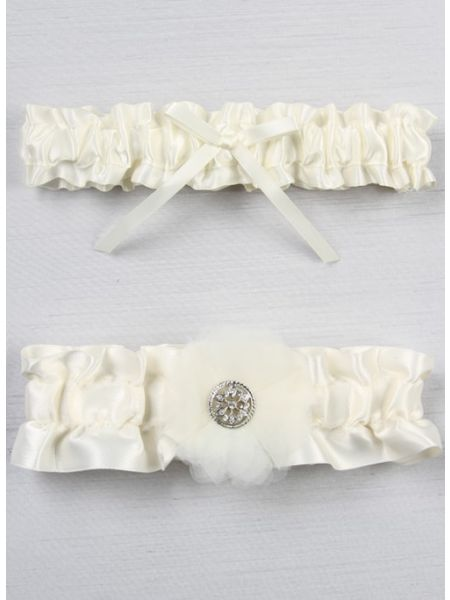 Chloe Bridal Garter Set