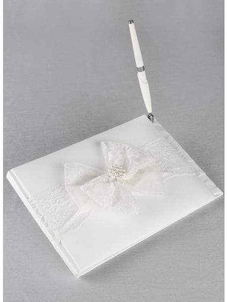 Delilah Guest Book with Pen