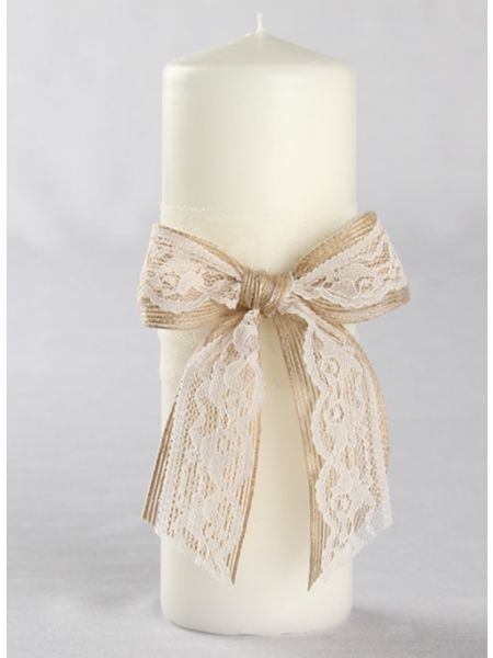 Country Romance Unity Candle