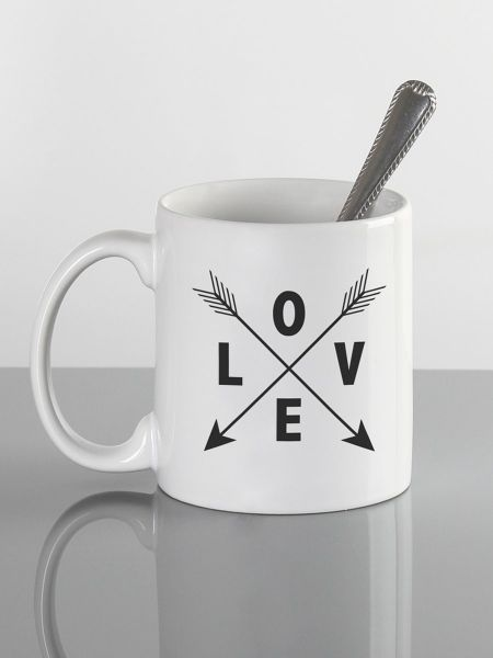 Love w/Arrows Mug
