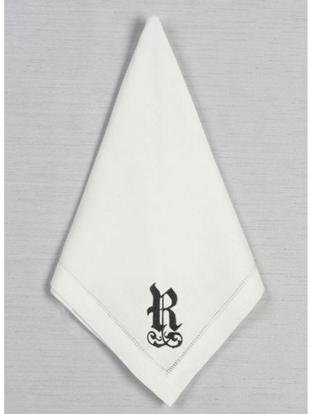 Men's Single Initial Handkerchief