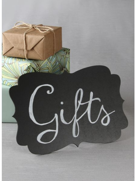 Chalkboard Sign with Easel
