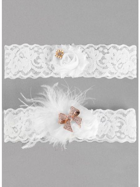 Hailey Lace Garter Set