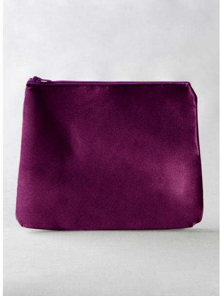 Cosmetic Bag, Plum