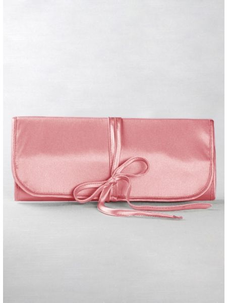 Jewelry Roll, Coral