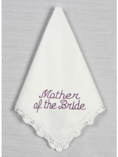 Mother of the Bride Crochet Lace Handkerchief