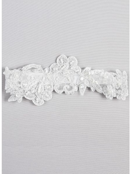 Vida Applique Garter