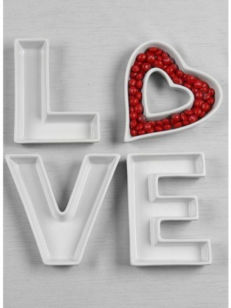 LOVE Dish Set