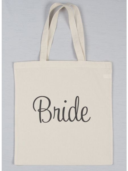 Bride Printed Tote Bag