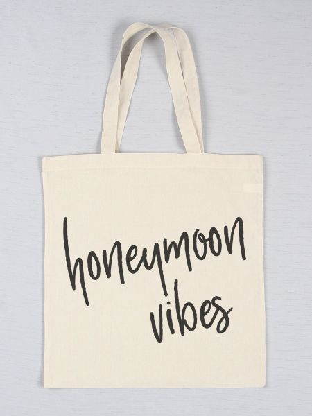 Honeymoon Printed Tote Bag