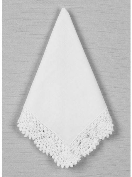 Crochet Wide Edge Handkerchief