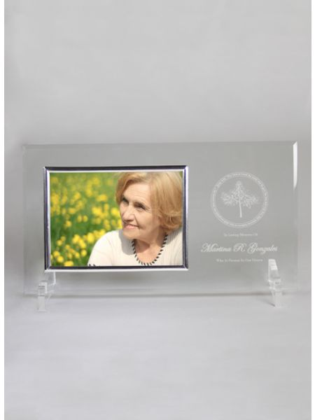 Memorial Glass Frame