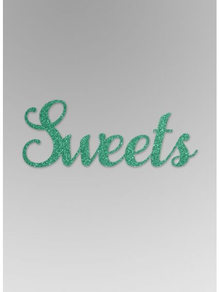 Sweets Glitter Word