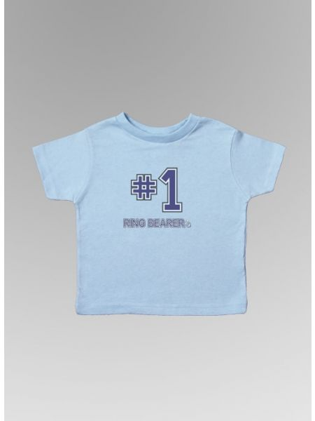 #1 Ring Bearer Toddler Tee