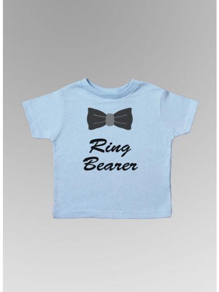 Ring Bearer w/Bowtie Toddler Tee