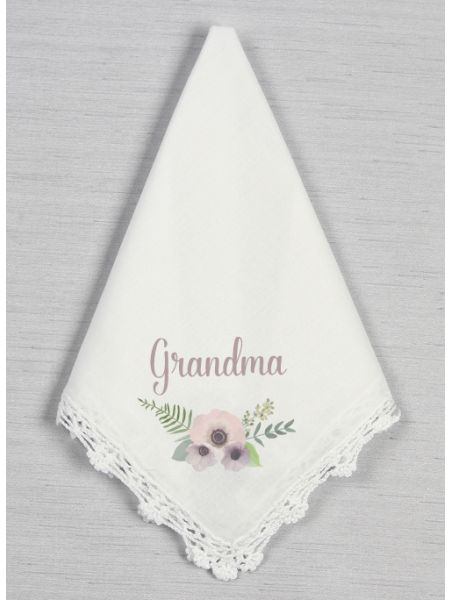 Personalized Crochet Handkerchief