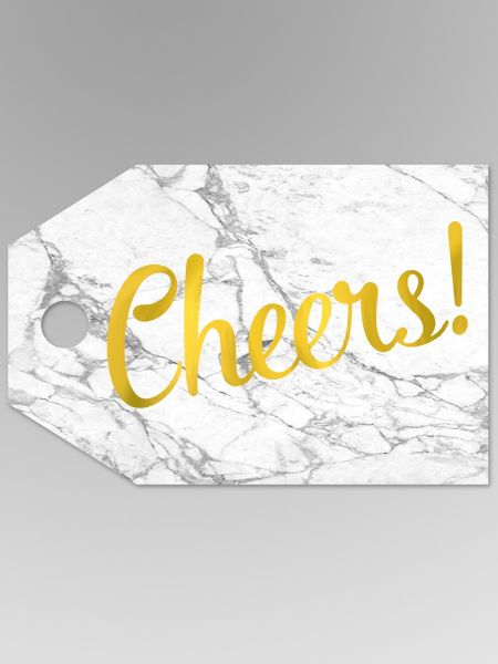 Cheers Favor Tag