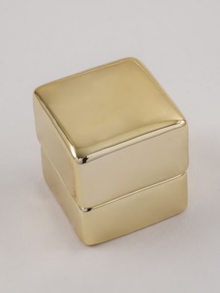 Ring Box - Gold