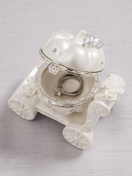 Pumpkin Carriage Ring Box