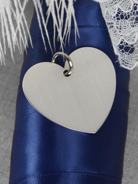 Heart Charm-Silver